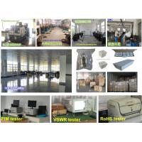 factory producing and testing facilities for RF connector