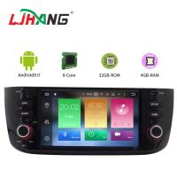 Android 8.0 Car FIAT Dvd Player with Stereo Radio GPS for LINEA NEW Manufactures