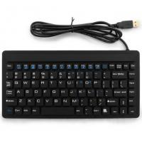 China Light Weight Flexible Abs Logitech Backlit Industrial Mini Keyboard For Computer on sale