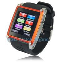 China 1.5 Inch Flat Screen Christmas Gift Watches With Mobile Phone for Kids / Friends MQ668 on sale