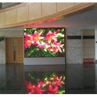 Full Color scrolling RS232 / 485 led display P10 signs indoor for actories , banks Manufactures