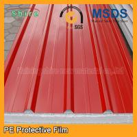 Temporary Surface Protection Films And Tapes For PPGI / PPGL Corrugated Roofing Sheet Manufactures