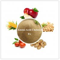 AMINO ACID CHELATED IRON DOWCROP HIGH QUALITY HOT SALE COMPLETELY WATER SOLUBLE LIGHT YELLOWORGANIC FERTILIZER Manufactures