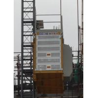 China Rack Pinion Type Construction Site Elevator Low Starting Current Payload Capacity 2000Kg for sale