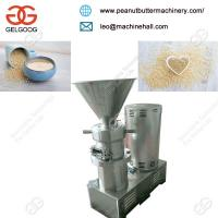 High Efficiency Automatic Commercial Use Sesame Seeds Butter Grinding Machine Manufactures