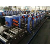 Powerful Erw Pipe Manufacturing Machine / Continuous Production Tube Mill Line Manufactures