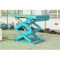 1500mm lifting height stationary aerial scissor lift 3Kw with 1000kg capacity Manufactures