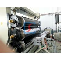 China PE/PP/ABS Plastic Sheet Extrusion Line For Sealing , Cutting Board on sale