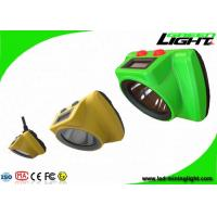 Impact Resistant Cordless Mining Lights 25000Lux With OLED Screen Head Lamp Manufactures