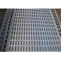 6MM Round Hole Mesh , Perforated Metal Mesh Punched Wire Mesh Netting / Plate / Screen Manufactures