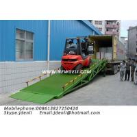 Mobile Hydraulic Dock Ramp,Trailer Ramp,Forklift Loadig Ramps,moveable dock ramp Manufactures