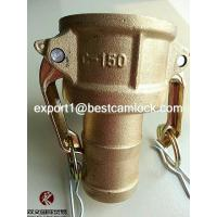 China High Quality Brass Adapter Cam and Groove Hose Fitting on sale