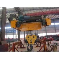Medium Duty Electric Trolley Hoist With Non-Rotating Wire Rope Manufactures
