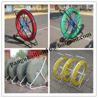 Sales Fish tape,Duct rodding,low price fiberglass duct rodder Manufactures