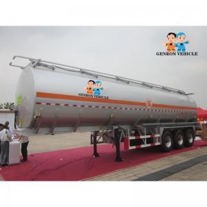 China ABS Locking Air Suspension Storage FUWA 25m3 Water Tank Trailer on sale