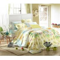 Queen Size / Full Size Home Bedding Comforter Sets 100 Percent Cotton Fabric Manufactures