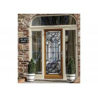 """Wall Strength Elegance Comfort Decorative Glass Panels 22"""" * 64"""" Steel Frame Material Manufactures"""