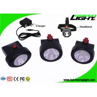 China 3.7V Li - Ion Battery Mining Cap Lights Rechargeable 13 - 15 Hours Lighting Time on sale