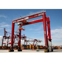 China High Quality 30-50Ton Rubber Tyred Gantry Crane, RTG container Crane on sale