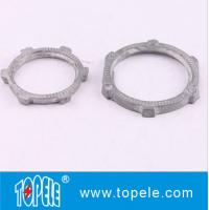 "1/2"" to 4"" Inch Rigid Locknut IMC Conduit And Fittings / Standard Zinc Plated Locknut Fitting Manufactures"
