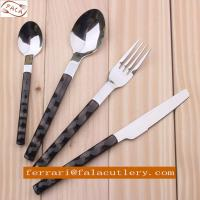 China Supplier Wholesale High Quality Plastic Handle Cutlery Manufactures
