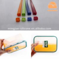 Lunch Box Custom Silicone Gaskets , Molded Silicone Rubber Seals Water Resistance Manufactures