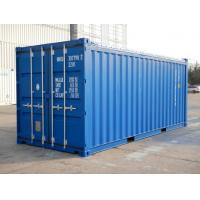 Optional Size Open Top Shipping Container 20 Foot Standard General Purposes for sale
