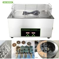 Medical Laboratory Digital Ultrasonic Cleaner 0-30 Minutes Timer 20-80C Temp Adjustable Manufactures