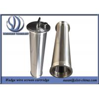 Stainless Steel Wire Mesh Cylinder For Automatic Self Cleaning Filtration System Manufactures