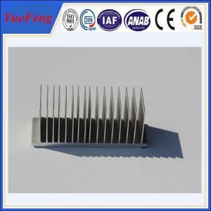 OEM aluminium 99.5% aluminium heat shield, kinds of aluminum extrusion heat sink Manufactures