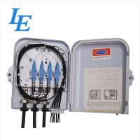 8 Cores Fiber Optic Cable Termination Box , Wall Mounted Optical Distribution Box Manufactures