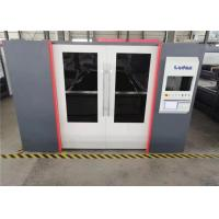 China IPG 4KW Fiber Laser Cutting Machine With Auto Calibrated Nozzle System on sale