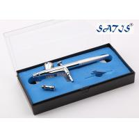 Quality 0.5mm Beaty Makeup Airbrush Gun with 0.2/0.25/0.3/0.5mm Nozzle OD for sale