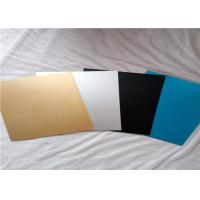 ASTM B209 Pre Painted Aluminum Sheet / Colored Anodized Aluminum Sheets Manufactures