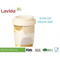 Non Fragile Bamboo To Go Cup Biodegradable Travelling Mug Hot Beverage Container Manufactures