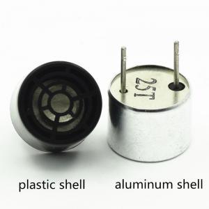 China Aluminum plastic ultrasonic transducer sensor 40khz sensor transmitter receiver on sale