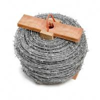 China CE Certificate Barbed Wire Security Fence , Hot Dipped Galvanized Razor Wire on sale