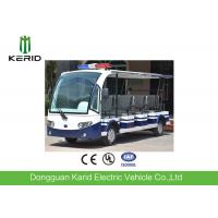 11 Sofa Seats 5kw Electric Utility Vehicle Tourist Bus With Alarm Lamp Manufactures