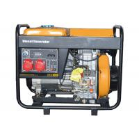 3 Phase 5000W Portable Small Portable Generators Open Type Hand Start Manufactures