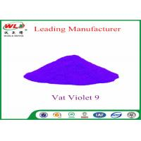 China Cotton Fabric Permanent Fabric Dye C I Vat Violet 9 Vat Dyes Heat Resistant on sale