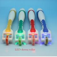 75 Needles Body Titanium LED Roller 1.0mm 1.5mm 2.0mm 2.5mm 3.0mm with Plastic handle Manufactures