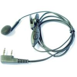 1 ear intercom headset for 2 way radio Manufactures