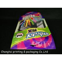 200g Stand Up Zipper Pouch With Tear And Clear Window For Candy Manufactures