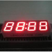 Long Life 4 Digit 7 Segment Led Display Common Anode For Cooker STB 0.39 Inch Manufactures