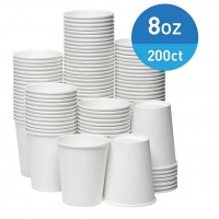 China 55mm Bottom Compostable Disposable Paper Cups For Coffee Tea Hot Chocolate on sale