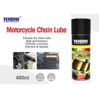 China Motorcycle Chain Lube Leaves Lubricating Non - Drying Film That Resists Wash Off & Sling Off on sale
