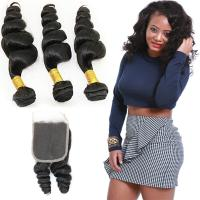 Thick 18 Inch Loose Curly Hair Extensions , Raw Indian Loose Curly Hair Manufactures