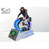 Dynamic Platform Moto Racing 9D VR Simulator With HD Display Screen Manufactures