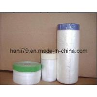 Pre-Taped Plastic Protective Film Manufactures