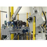 Robot Palletizing System / Stacker Fully Automatic For Bag Fertilizer 180 Kg Payload Manufactures